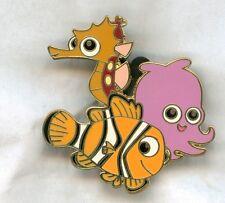 DISNEY PIN Nemo, Sheldon & Pearl from Finding Nemo