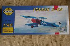 MAQUETA AVION FOKKER D-VII 1/48 OFERTA 4 x 3