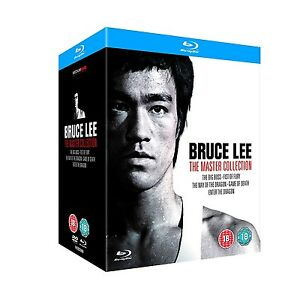 BRUCE LEE THE MASTER COLLECTION 5 FILM BLU RAY BOXSET NEW & SEALED!
