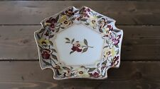 Antique Royal Vienna Flower Serving Bowl Dish 9.5 inch diameter
