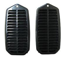 70-72 GM A-Body Door Jamb Louver Pressure Relief Valve Vent Grille  -  PAIR