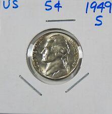 1949-S  Jefferson Nickel  Uncirculated