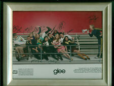 2011 Fox TV Glee Cast Autographed photo, Cory Monteith, Lea Michelle, +10