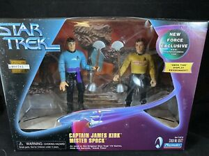 AMOK TIME KIRK & SPOCK STAR TREK 2-PACK PLAYMATES TOS NEW FORCE EXCLUSIVE