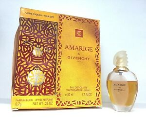 RARE AMARIGE by Givenchy for Women 50 ML, 1.7 fl.oz, EDT, plus gift.