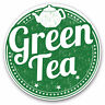 2 x Vinyl Stickers 7.5cm - Green Tea Healthy Organic Tea Cup Cool Gift #5171