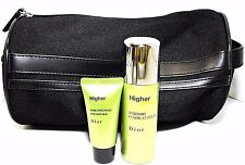 CHRISTIAN DIOR HIGHER ENERGY 3 PCS TRAVEL GIFT SET FOR MEN NEW SET !!!
