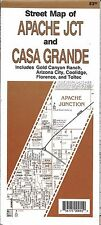 Street map of Apache Jct & Casa Grande, AZ, by North Star Mapping