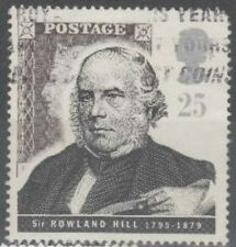 GB stamp commemorating Sir Rowland Hill - see scan