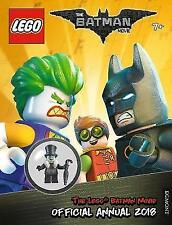 The Lego Batman Movie Official Annual 2018 Includes Joker Minifigure HB Book NEW