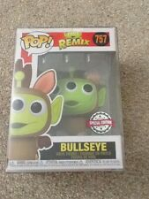 Funko Pop Alien Remix Bullseye. Toy Story 757. Vinyl Figure. New in Box.