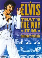 "DVD ""THAT'S THE WAY IT IS"" - ELVIS PRESLEY    neuf sous blister"
