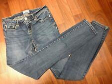 Aeropostale Womens Juniors Jeans Size 0 Bayla Skinny Pants Medium Wash