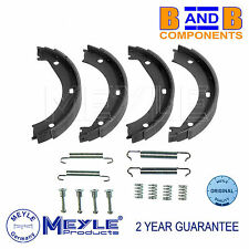 BMW HANDBRAKE PARKING SHOES & FITTING KIT E36 M3 & Z3 M MEYLE A1209
