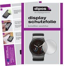 6x Uhr 55 mm Durchmesser Schutzfolie klar Displayschutzfolie Folie Display