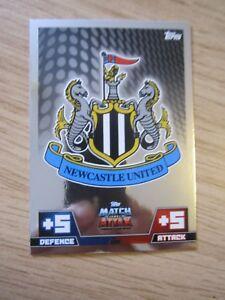 Match Attax 2014/5 Club Crest card - Newcastle United #199
