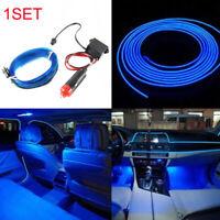 2M Auto Car Door Centre Console LED Interior Optical Fiber Light Decorative Lamp
