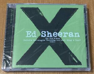 x by Ed Sheeran (CD, Jun-2014, Atlantic (Label)) SEALED