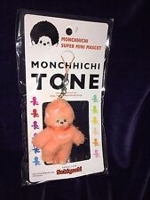 """New Vintage 90's ? Sekiguchi Orange Monchhichi Super Mini Mascot  3"""" RARE"""