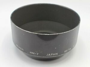 Genuine Nikon HN-7 Metal 52mm Screw-In Lens Hood for 85mm F1.8 / 80-200mm F4.5
