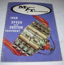 MICKEY THOMPSON M/T 1968 SPEED and CUSTOM EQUIPMENT CATALOG HEMI 392 354 331