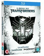 TRANSFORMERS 1-3 COLLECTION ALL 3 FILMS BLU-RAY 3 DISCS BOX SET REG B NEW&SEALED