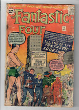 FANTASTIC FOUR #9 - Grade 2.0 - Third Silver Age Sub-Mariner appearance!