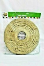 """Gold Lanterns 12"""" Includes Wire Collapsible Pack of 6 Birthday Party Decor NEW"""