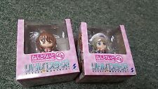 Little Busters! -Rin & Kud- Petite Nendoroid Figures- lot of 2- New- Import