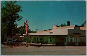 Gillette, Wyoming Postcard THE CORNER MOTEL Interstate 90 Roadside c1960s Unused