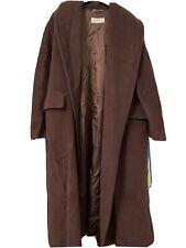 Max Mara Oversized Coat Large