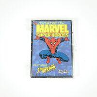 Vintage 1997 Marvel Super Heroes Comics Amazing Spiderman Magnets New Sealed