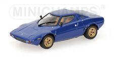 Lancia Stratos 1974 Blue 1:43 Model MINICHAMPS
