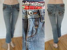 Esprit Jeans Five Girl straight leg Low Hip à rabat stretch Blue 34