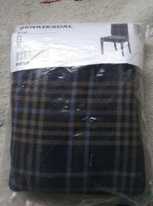 NIP IKEA HENRIKSDAL Chair Cover Slipcover Rutna Multicolor 100%Cotton