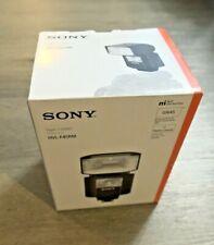 BOX ONLY Sony HVL-F45RM External Flash