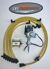 PLYMOUTH 413-426-440 SMALL Cap HEI Distributor + 60K COIL + 8MM Plug Wires - USA