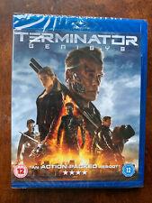 Terminator Genysis Blu-ray 2015 Sci-Fi Movie 5 w/ Arnold Schwarzenegger