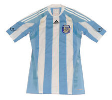 Argentina National Home jersey shirt Player Issue L adidas white AFA TechFit