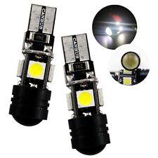 2PCS Cree XPE 5050 SMD Xenon White High Power Led T15 921 T10 Bulbs Backup Light