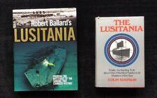 Lusitania Books by Colin Simpson & Robert Ballard