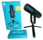 JLab Talk Pro USB Microphone Professional Grade Plug & Play Black MTALKPRORBLK4
