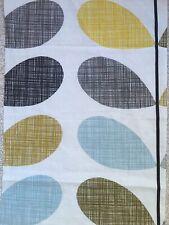 101cm x 34cm wide Orla Kiely Scribble Stem in Seagrass & duck egg Fabric New