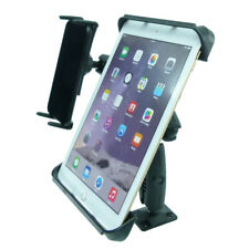 """Permanent Screw Fix Fleet Dual Dash Mount with 9"""" tablet holder and phone holder"""