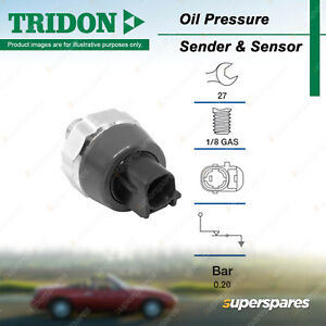 Tridon Oil Pressure Switch for Lexus CT200h ES300 GS300 GS430 GS450H GS460 IS F