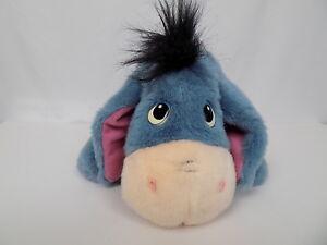 Fisher Price Disney Ask Me More Eeyore Plush Talking Toy Winnie Pooh 1999 Tested