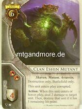 Warhammer INVASION - 1x Clan Eshin mutante #077 - Vessel Of The Winds