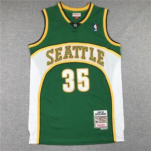 Kevin Durant 35# Seattle SuperSonics 07-08 Classics Men's Swingman Jersey Green
