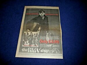 DEXYS MIDNIGHT RUNNERS SEARCHING 80 FULL PAGE PRESS ADVERT POSTER SIZE  37/26CM