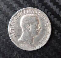MONETA 1 Lira Vittorio Emanuele III 1915  NC  ( 1078 )